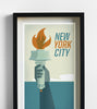 New York Travel Print