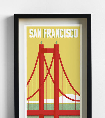 San Francisco Travel Print