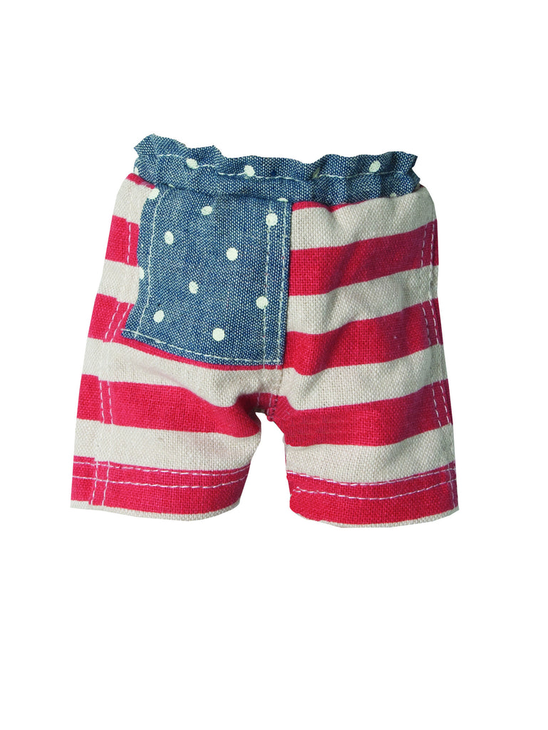 Maileg Medium Sized Striped Shorts at Smitten for the Wee Generation