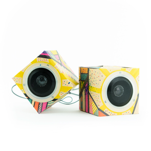 Seedling Design Out Loud Cardboard Speakers