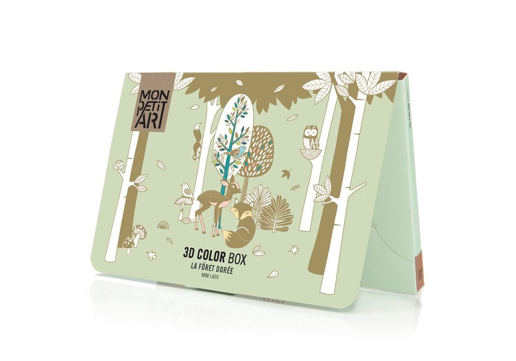Mon Petit Art 3D Color Box - Gilded Forest