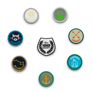 The Honor Society Merit Badges - Full Set