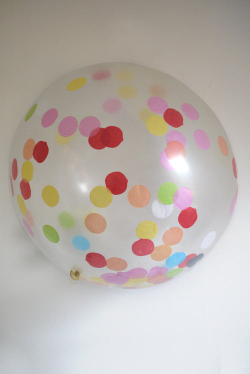 A Little Lovely Company's Giant Confetti Balloon