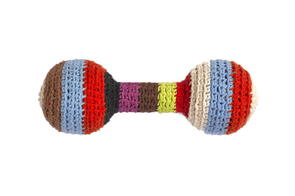 Anne-Claire Petit Striped Baby Rattle