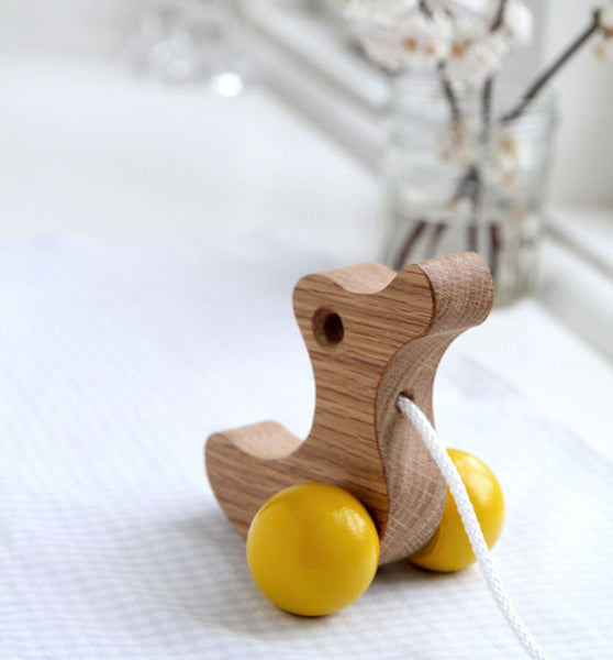 Pull Along Wooden Duckling