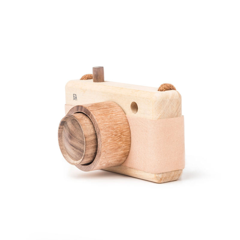 Wooden Zoom Toy Camera
