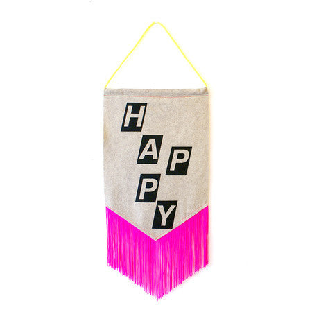 Corby Tindersticks Happy Fringe Pennant