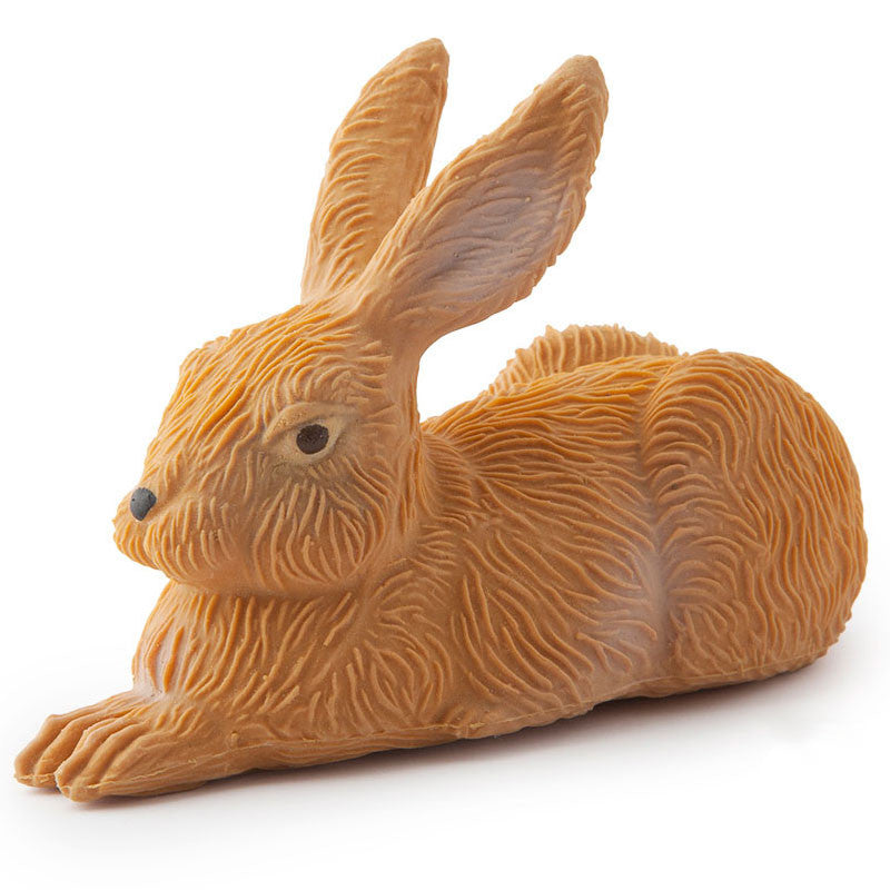 Oli & Carol Gilbert the Rabbit Rubber Toy