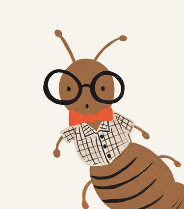 Arthur the Ant Art Print