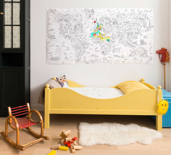 OMY Design & Play Giant Coloring Page - Atlas