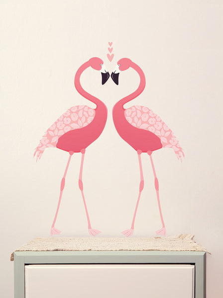 Love Mae Flamingo Wall Sticker