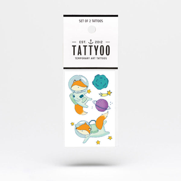 Tattyoo Temporary Tattoo - Space Adventure