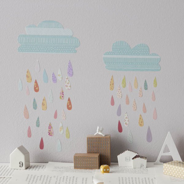 Love Mae Summer Rain Wall Sticker at www.perfectlysmitten.com
