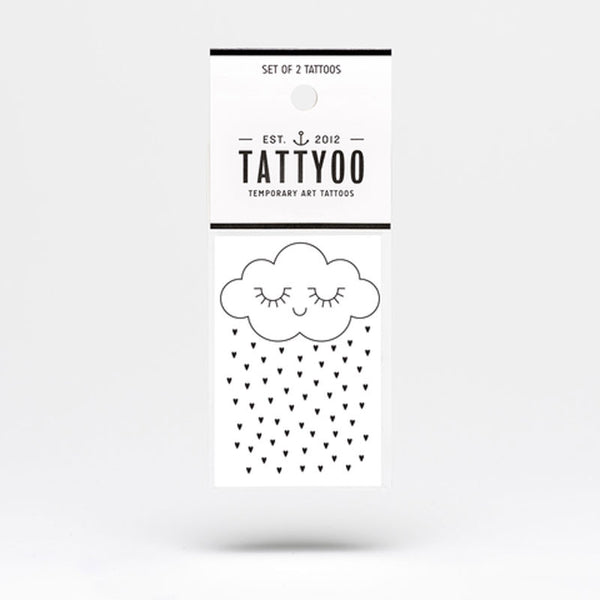 Tattyoo Temporary Tattoo - Tenderness Cloud