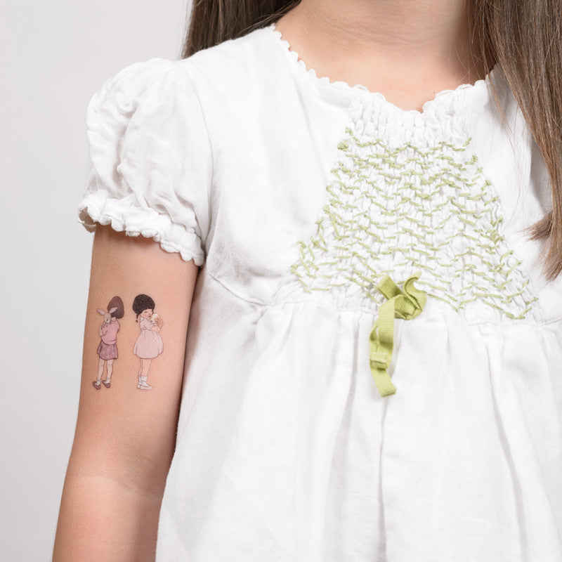 Tattyoo Temporary Art Tattoos - Belle & Boo Furry Friends