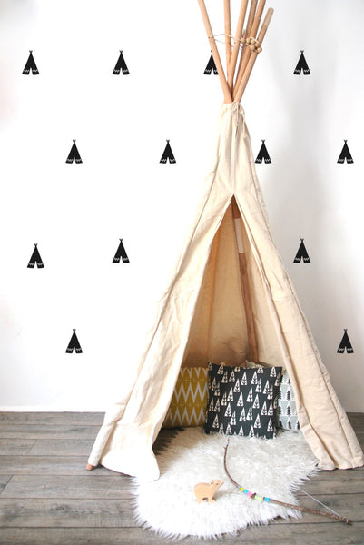Pöm Teepee Wall Stickers