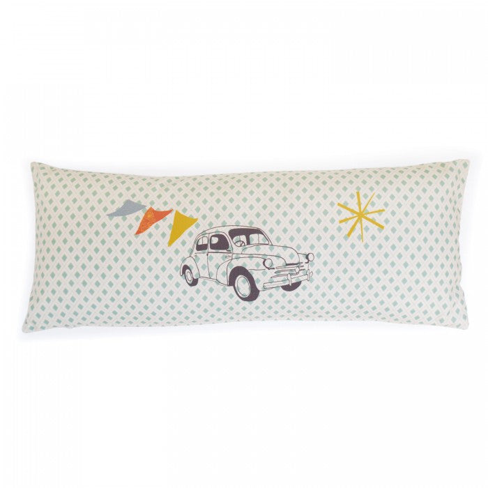 Mimi'Lou Vintage Car Pillow
