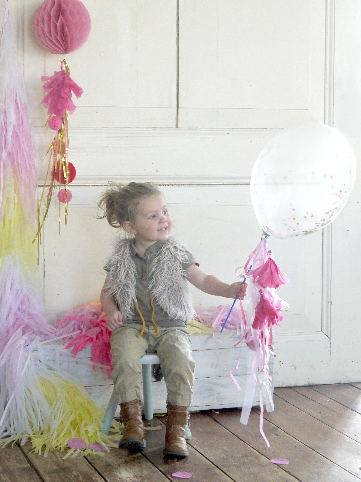 Little Lovely Co. Confetti Balloons