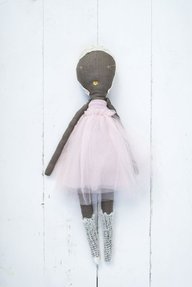 Jess Brown Rag Doll No. 12