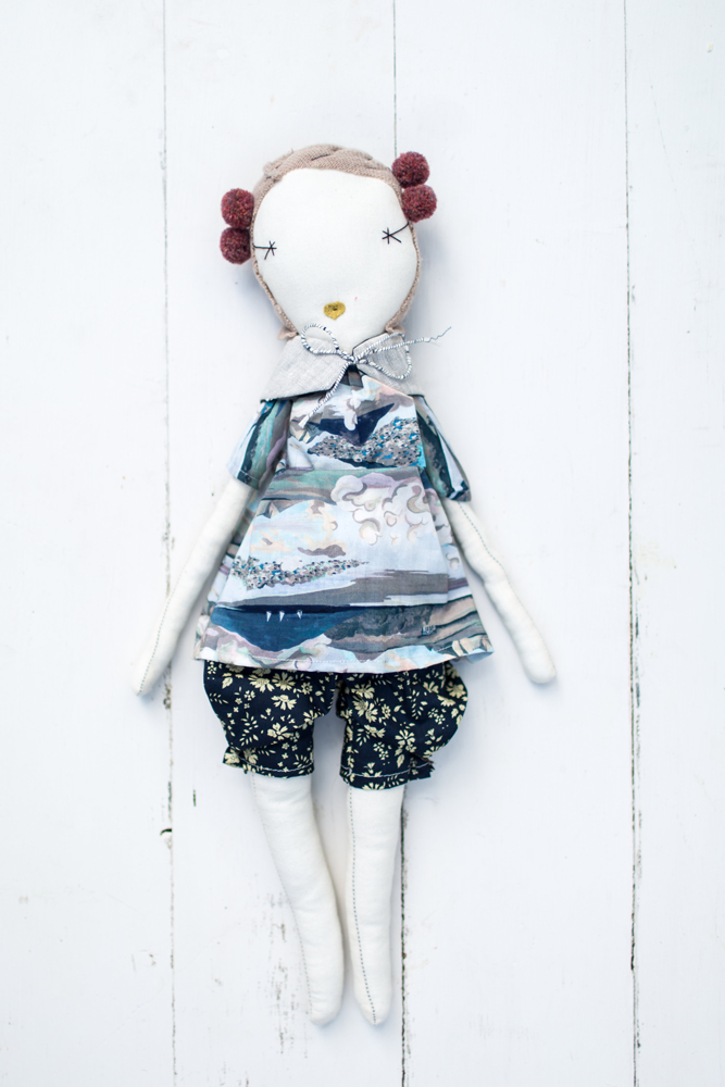 Jess Brown Rag Doll No. 10