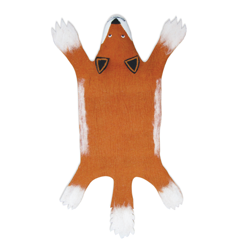 Sew Heart Felt Fox Rug
