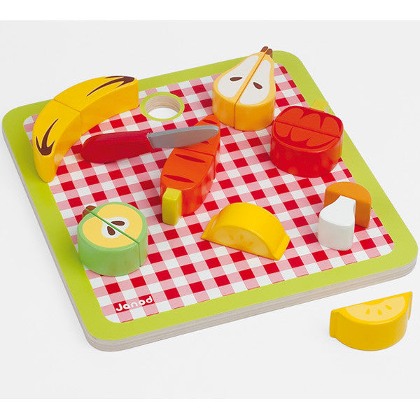 Janod Chunky Fruit & Veggie Set