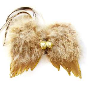 Atsuyo et Akiko Feather Angel Wings - Beige