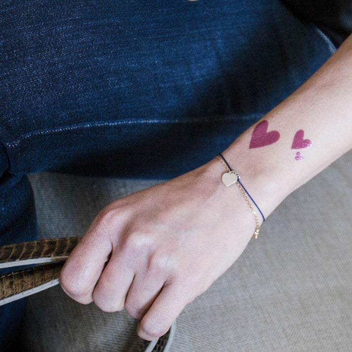 Tattyoo Temporary Tattoo - Hearts