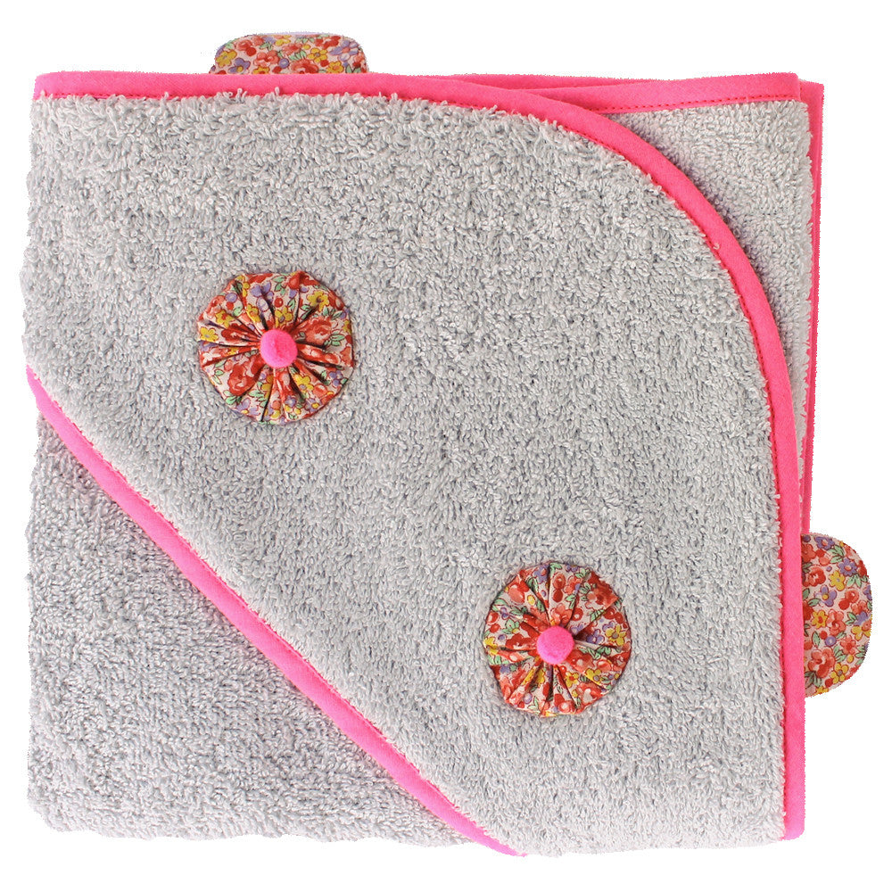 Nanana Hooded Towel - Floral