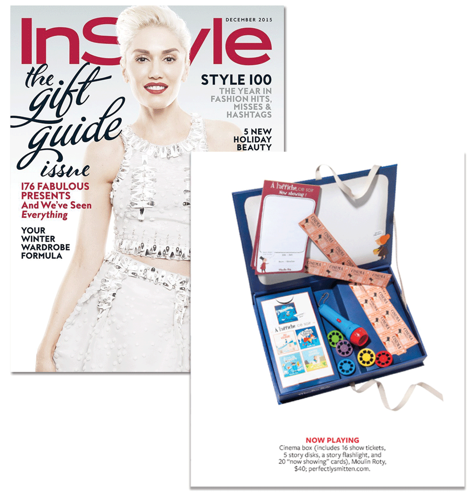 Cinema Box from Perfectly Smitten featured in InStyle Magazine