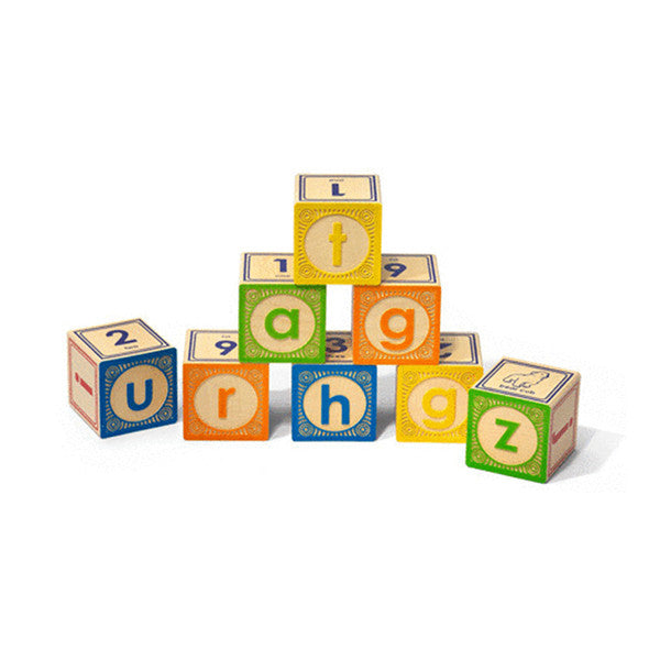 Lowercase Block Set by Uncle Goose
