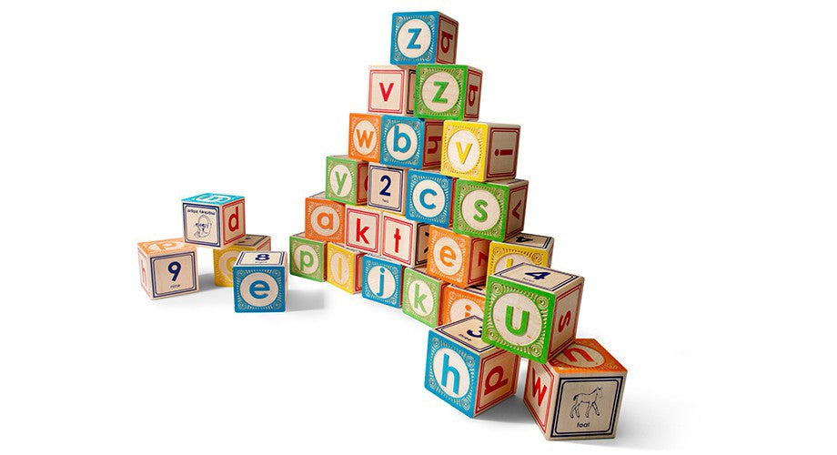 Uncle Goose Lowercase Block Set