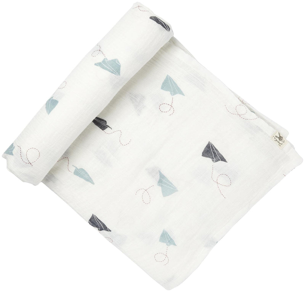 Petit Pehr Swaddle - Paper Airplane