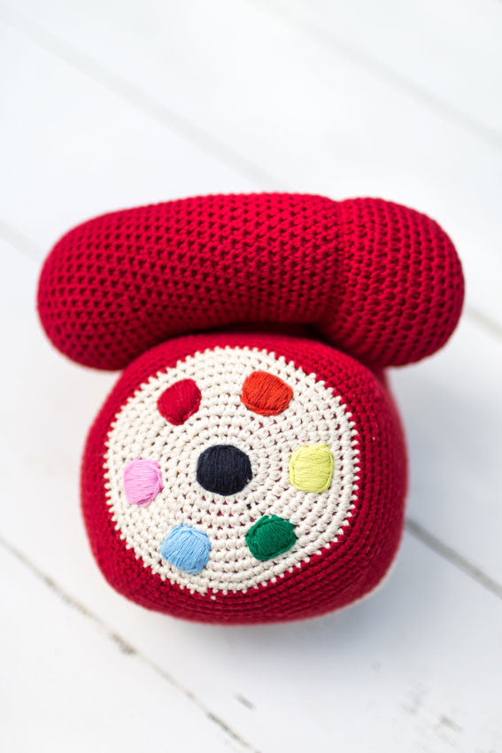 Anne-Claire Petit Crocheted Telephone