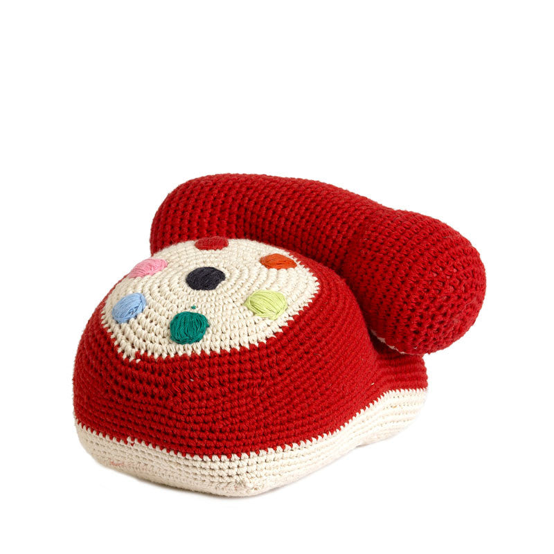 Anne Claire Petit Crocheted Telephone