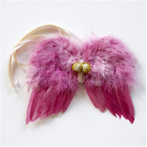 Atsuyo et Akiko Feather Angel Wings - Pink