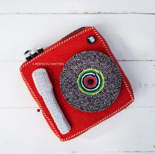 Anne-Claire Petit Crocheted Record Player