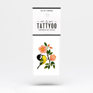 Tattyoo Sweet Bird Temporary Tattoo