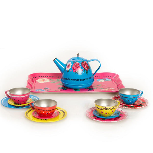 Tin Tea Set by Nathalie Lete