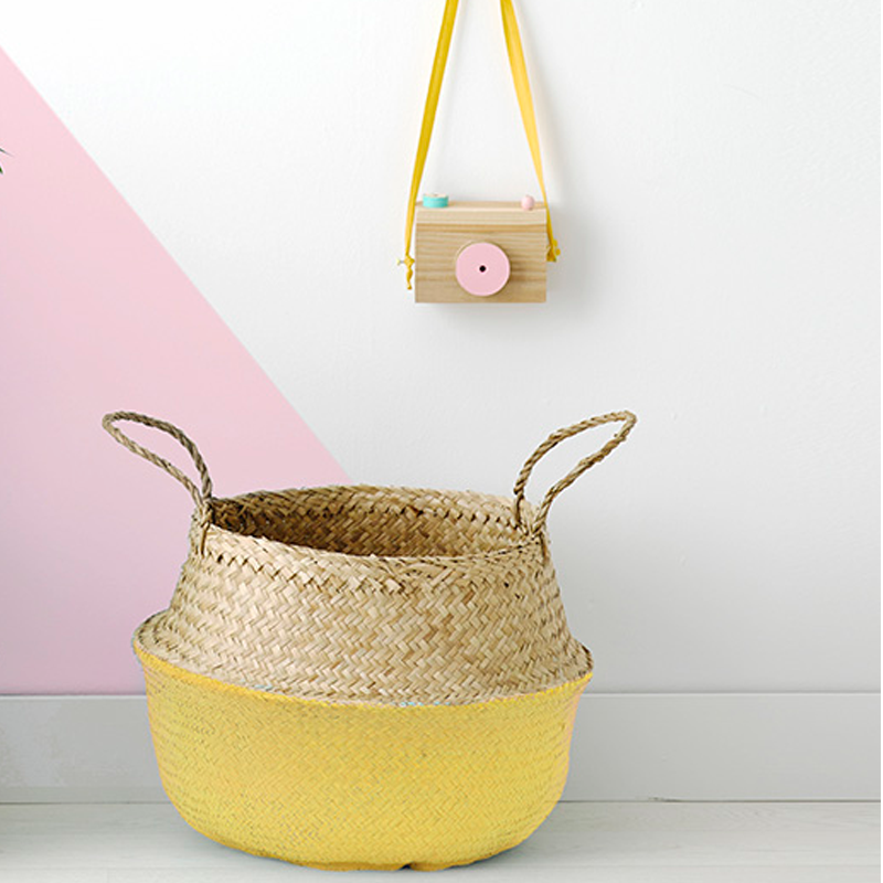Olliella Belly Basket - Yellow