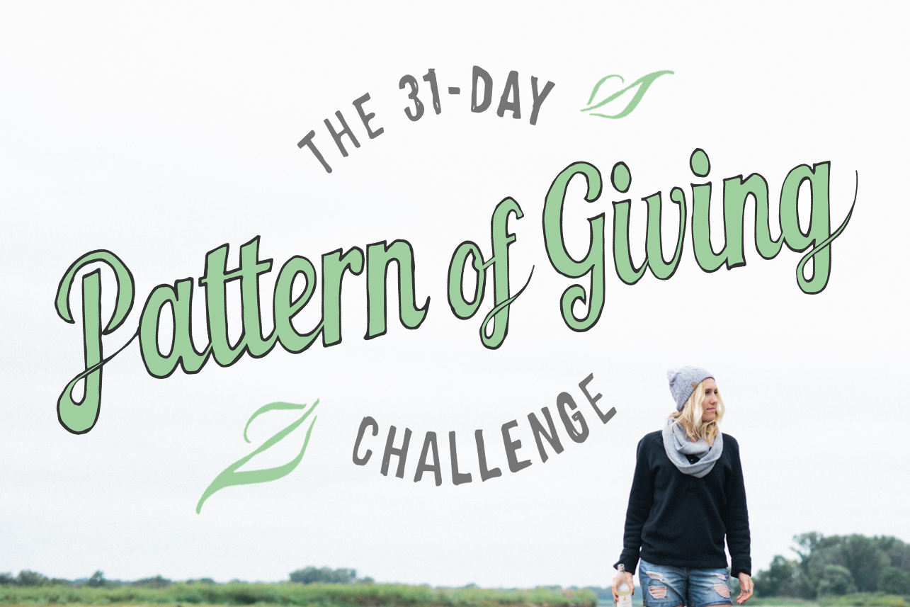 Pattern Of Giving with Mitscoots