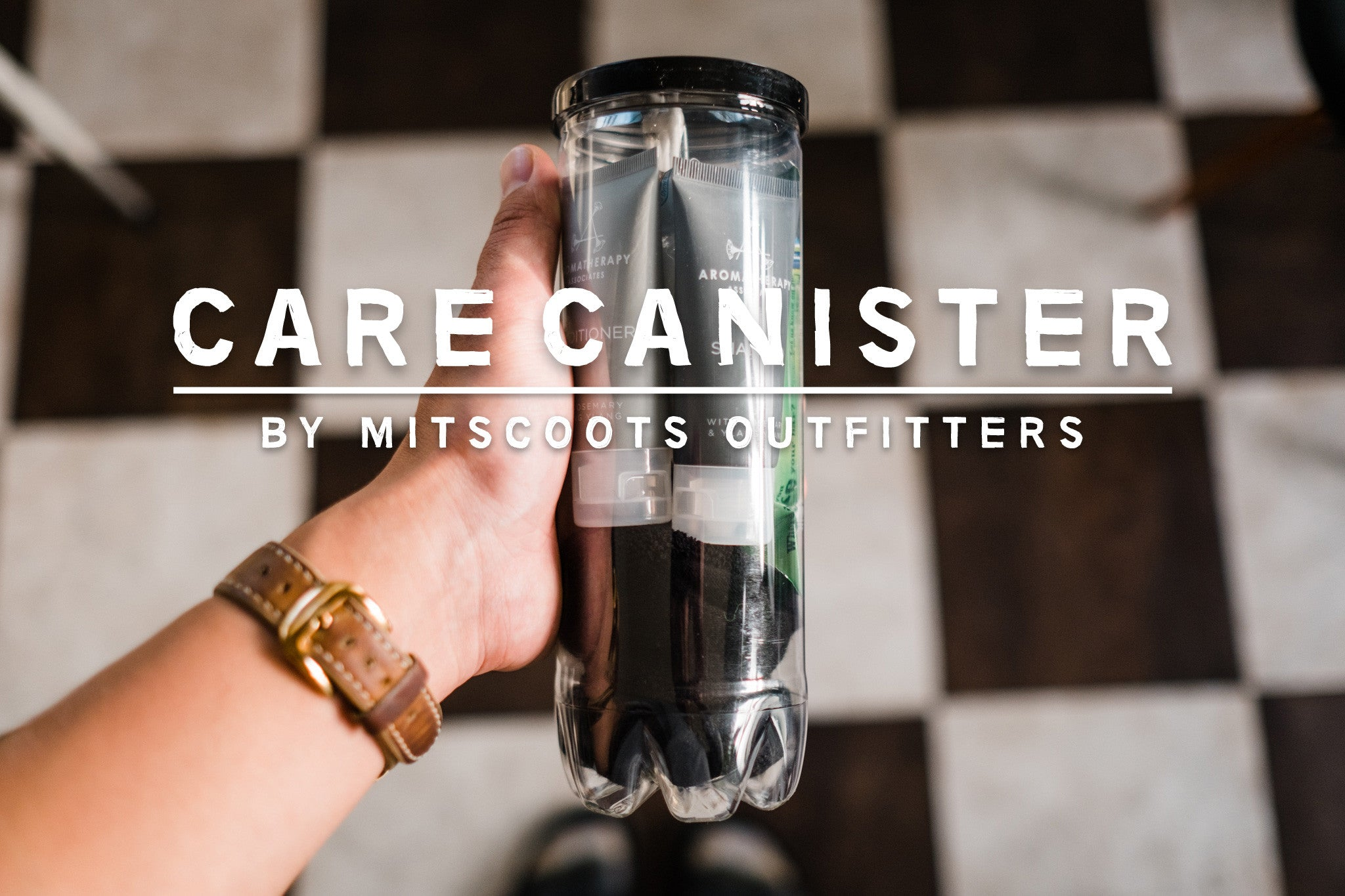 Care Canister for the Homeless By Mitscoots Outfitters