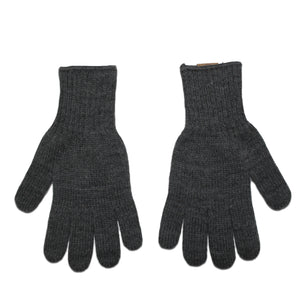 Graphite Acrylic Knit Gloves