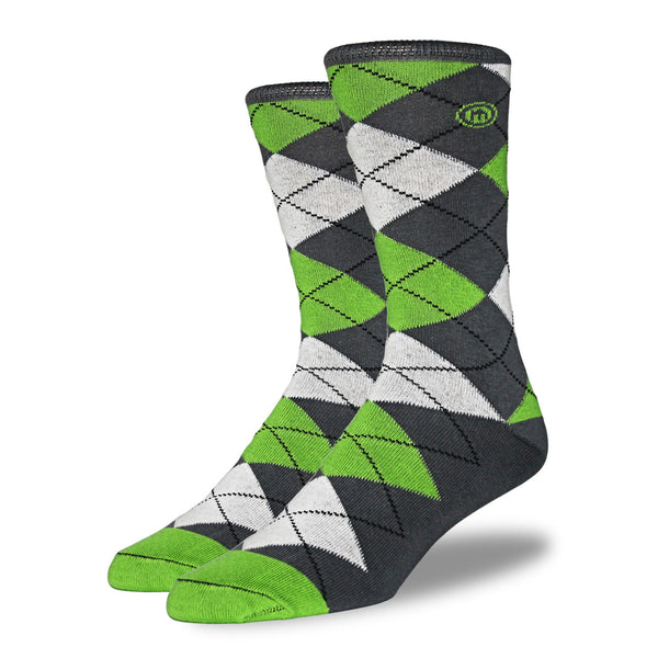 The Michael mens argyle socks