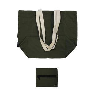 Army Green Traveler Tote