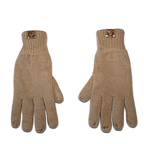 Sand Insulated Knit Gloves