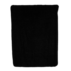 Black Fleece Blanket