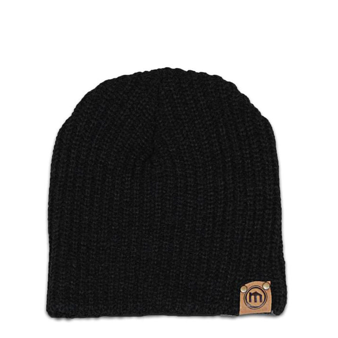 a60c2008e68 Mitscoots Outfitters - Black Lumberjack Knit Beanie
