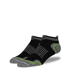 The Steve - Men's Black Low Cut Socks