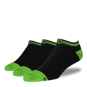 The Riley kids black low cut socks 3 pack